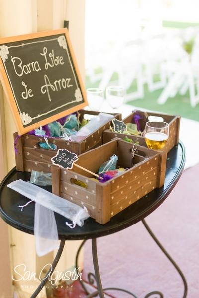 planifica - atrezzo detalles de boda