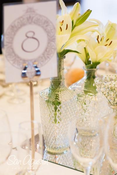 decoracion de mesas - detalles de boda